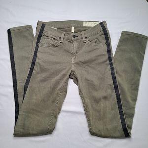 Rag & Bone Colorblock Skinny Jeans